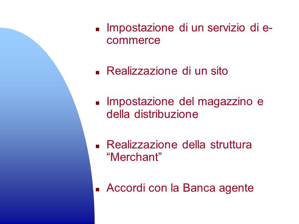 Impostazione di un servizio di e-commerce