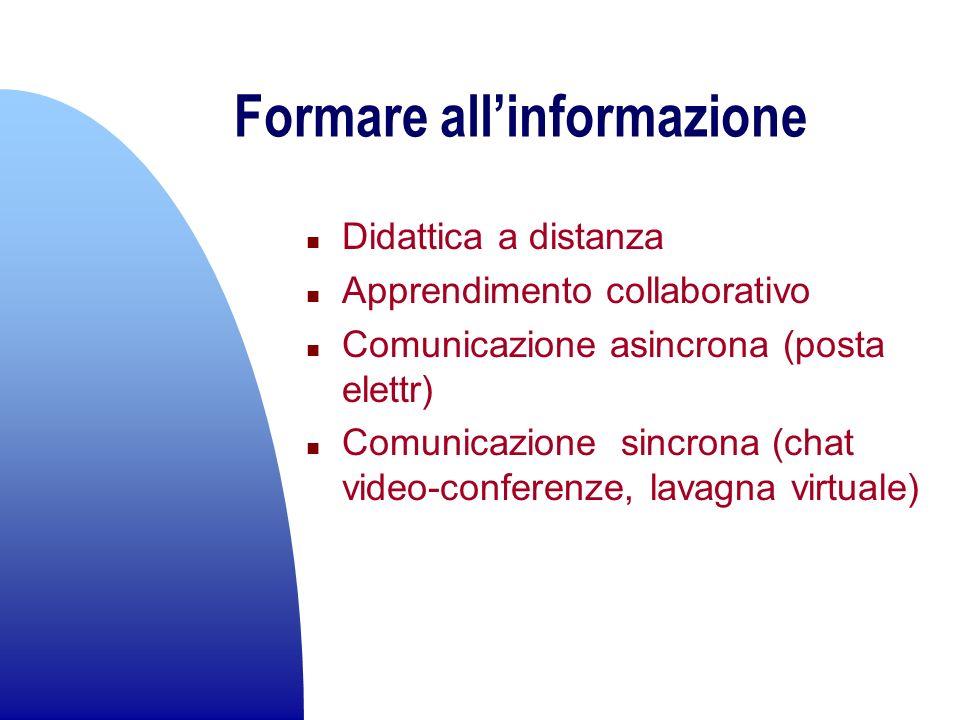 Formare all'informazione