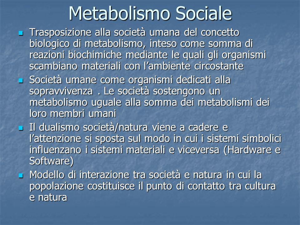 Metabolismo Sociale