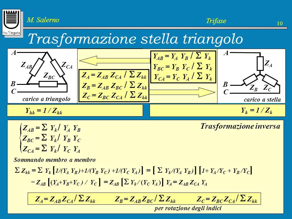 Trasformazione stella triangolo