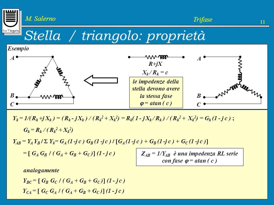 Stella / triangolo: proprietà