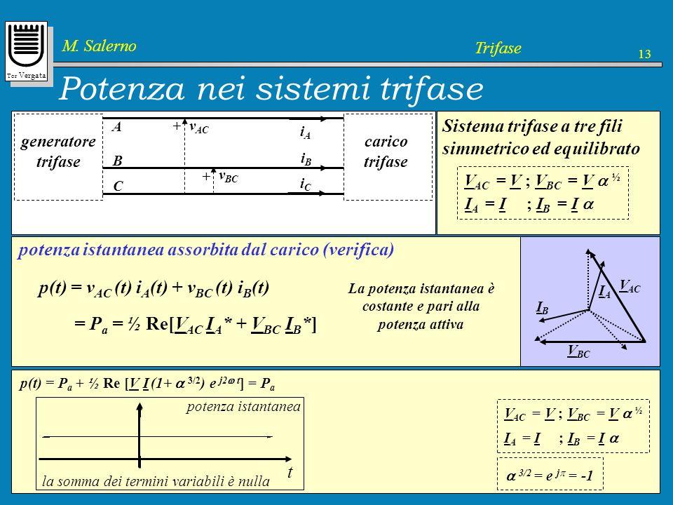 Potenza nei sistemi trifase