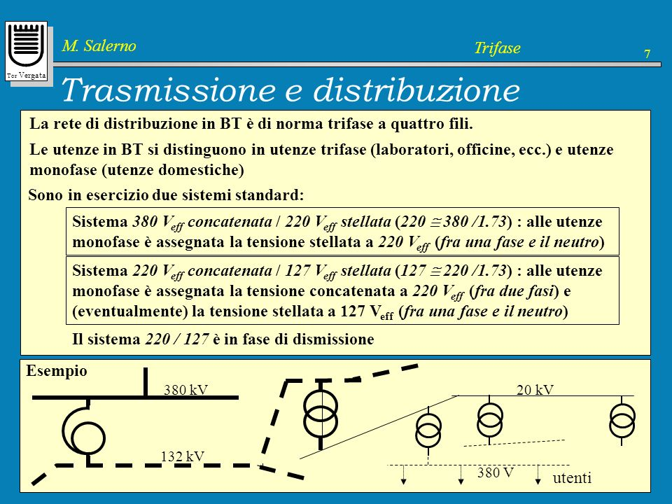 Trasmissione e distribuzione