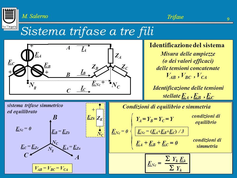 Sistema trifase a tre fili
