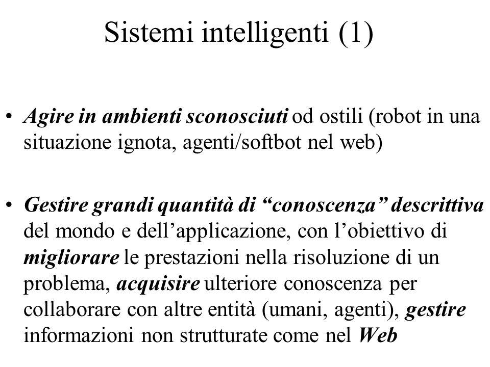 Sistemi intelligenti (1)