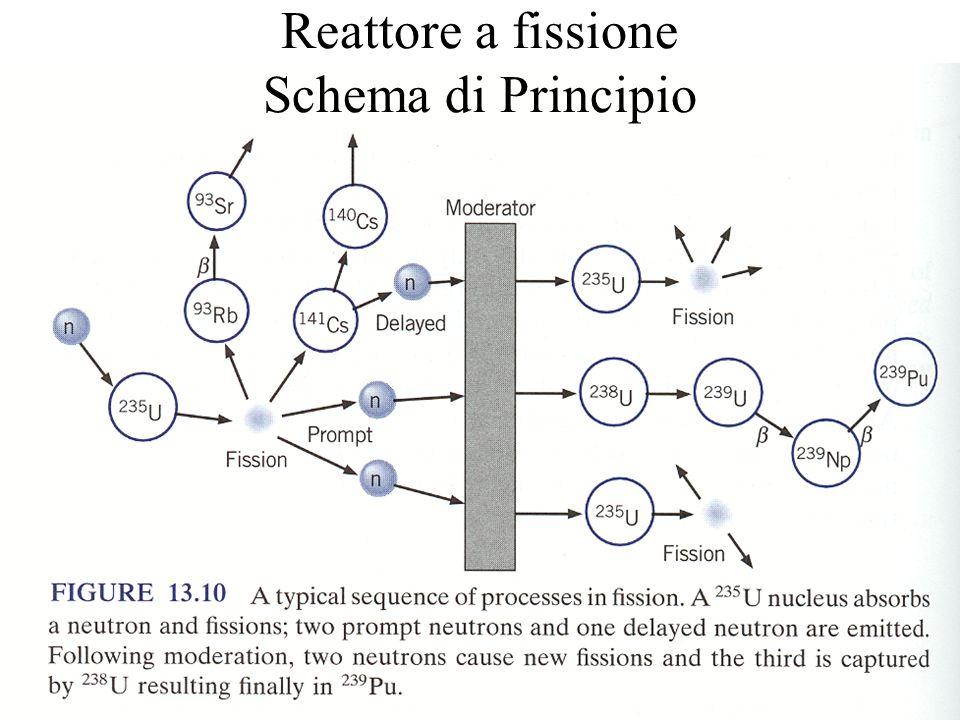 Reattore a fissione Schema di Principio