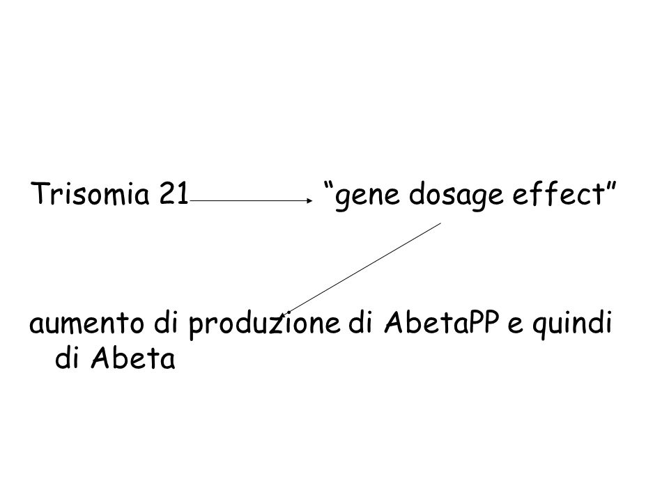 Trisomia 21 gene dosage effect