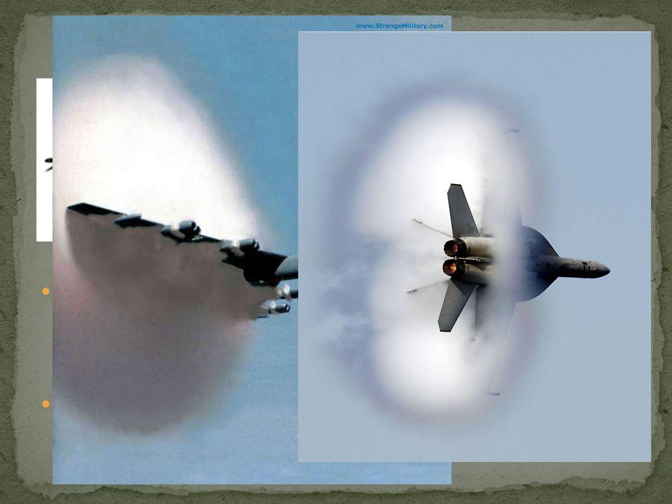 Il muro del suono e il bang supersonico