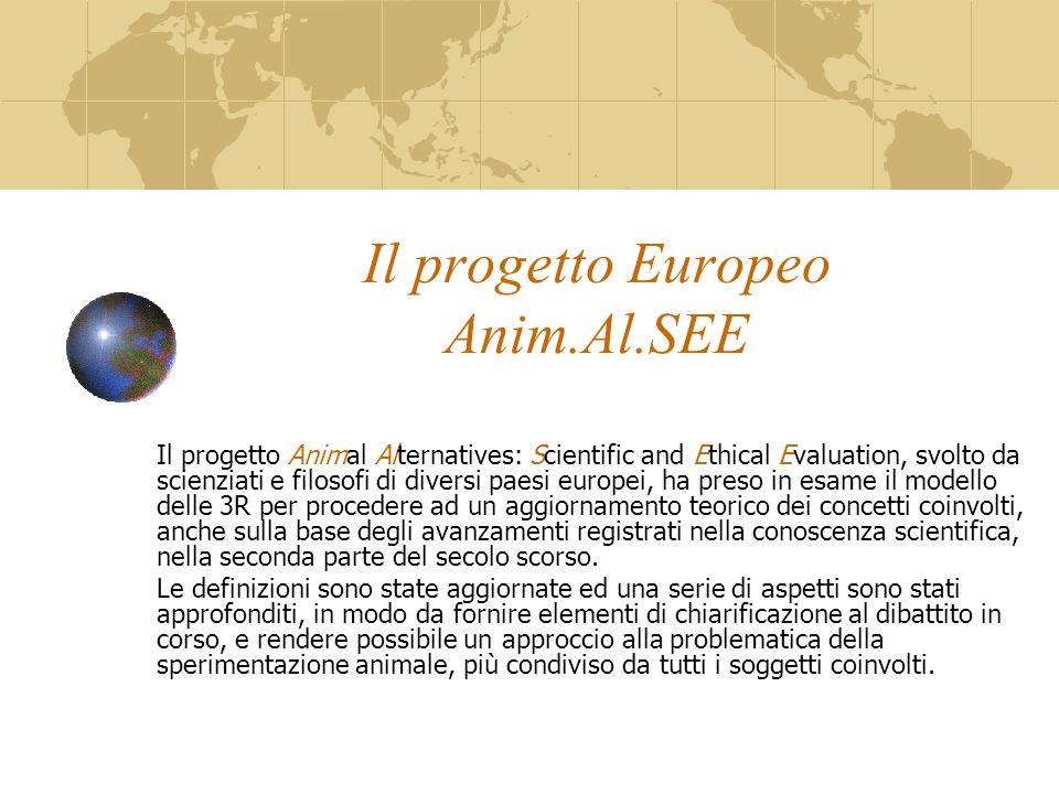 Il progetto Europeo Anim.Al.SEE