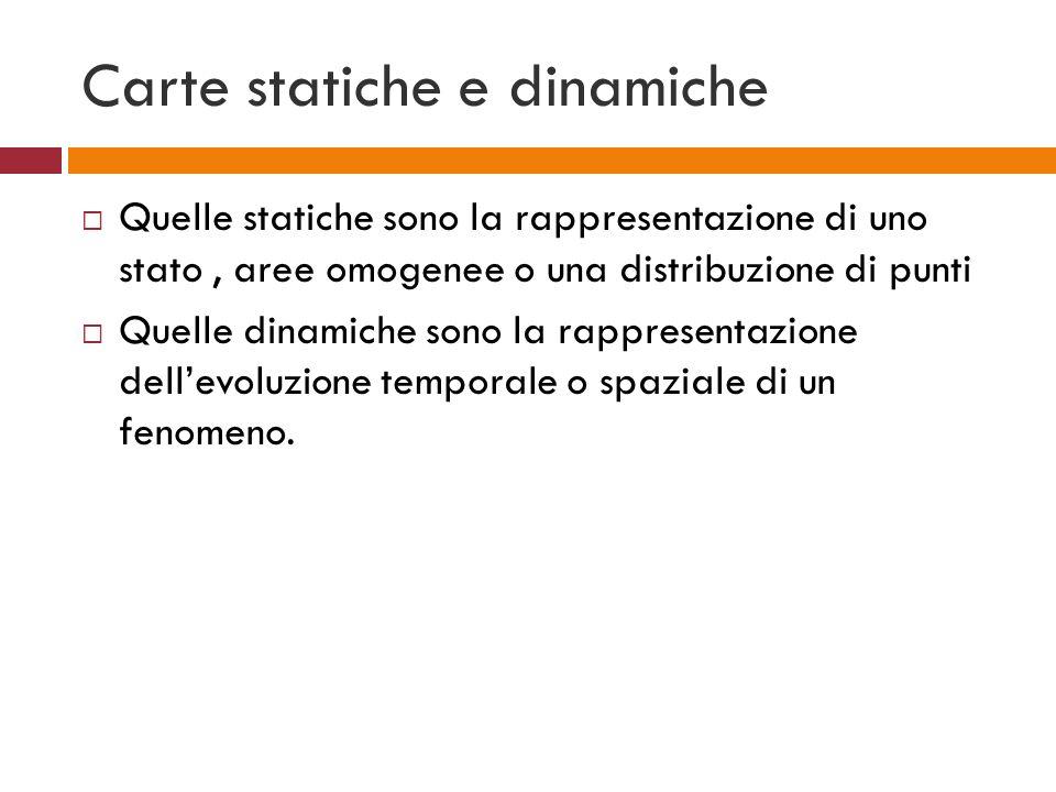 Carte statiche e dinamiche