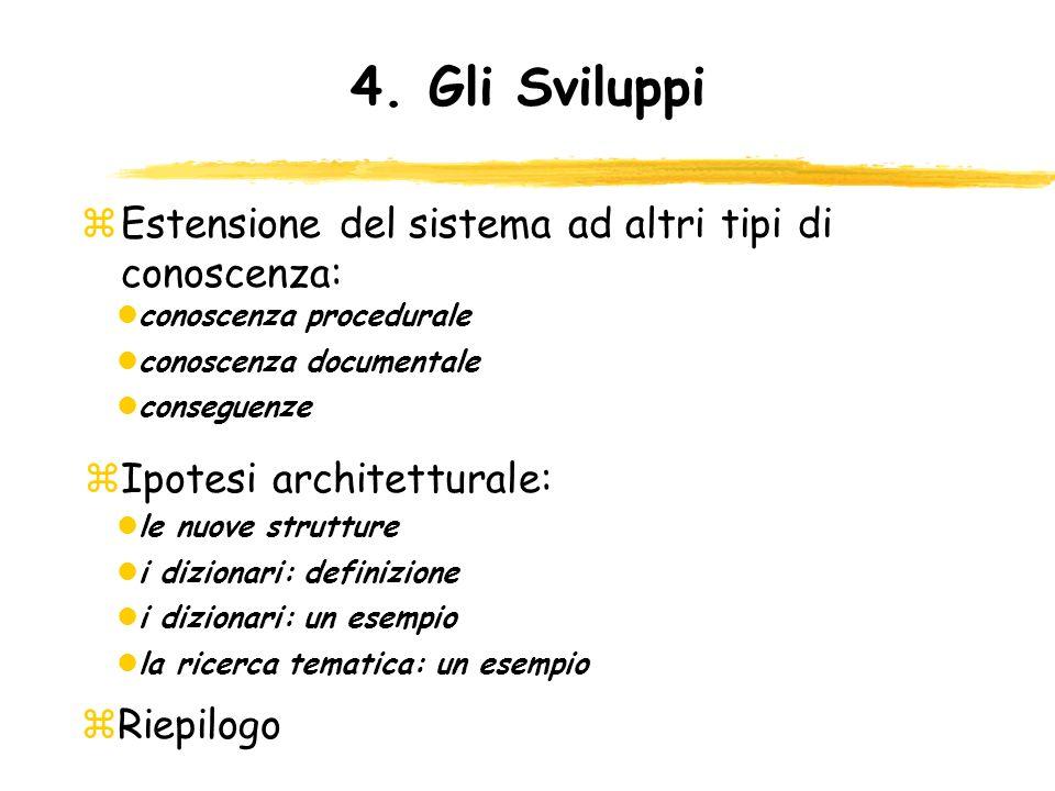Ipotesi architetturale: