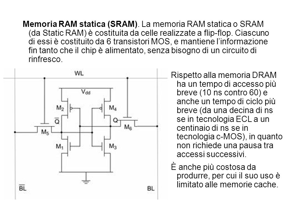 Memoria RAM statica (SRAM)