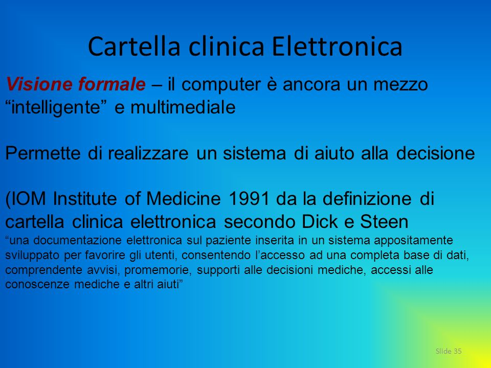 Cartella clinica Elettronica