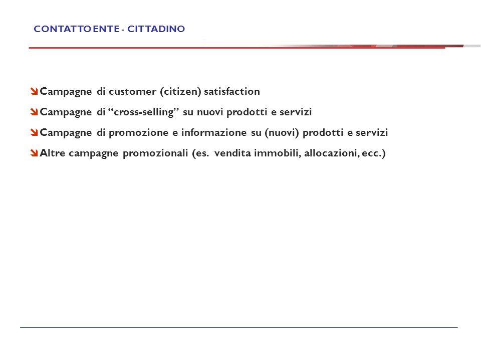 Campagne di customer (citizen) satisfaction