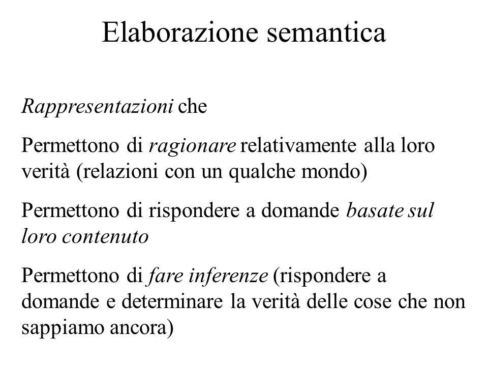 Elaborazione semantica