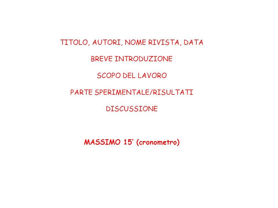 MASSIMO 15' (cronometro)