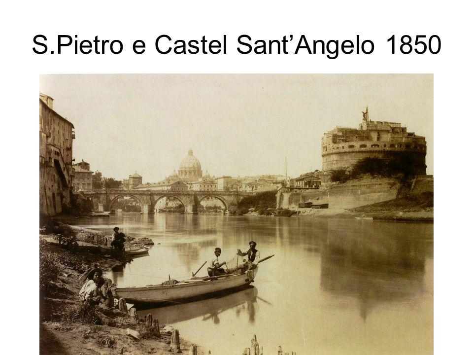 S.Pietro e Castel Sant'Angelo 1850