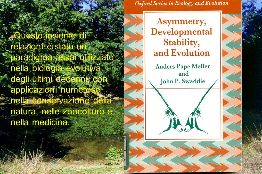 Questo insieme di relazioni è stato un paradigma assai utilizzato nella biologia evolutiva degli ultimi decenni, con applicazioni numerose nella conservazione della natura, nelle zoocolture e nella medicina.