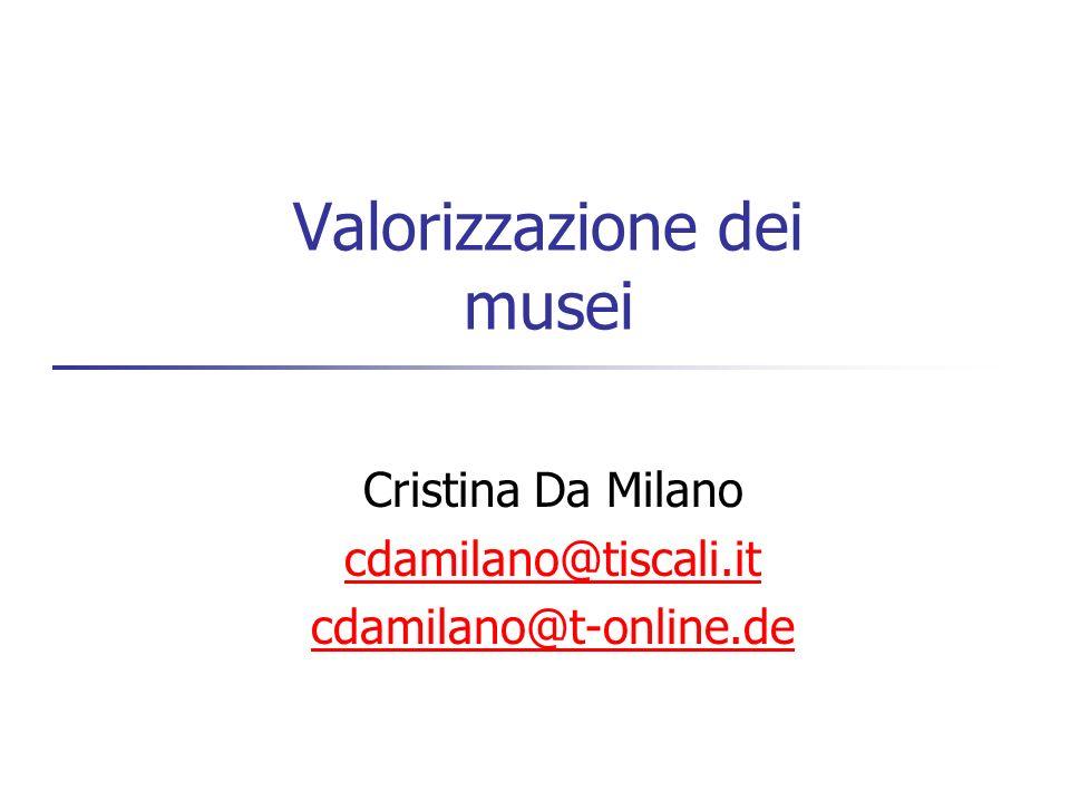 Valorizzazione dei musei