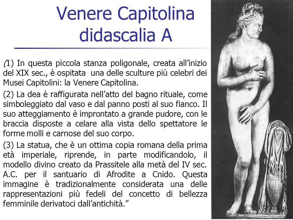 Venere Capitolina didascalia A
