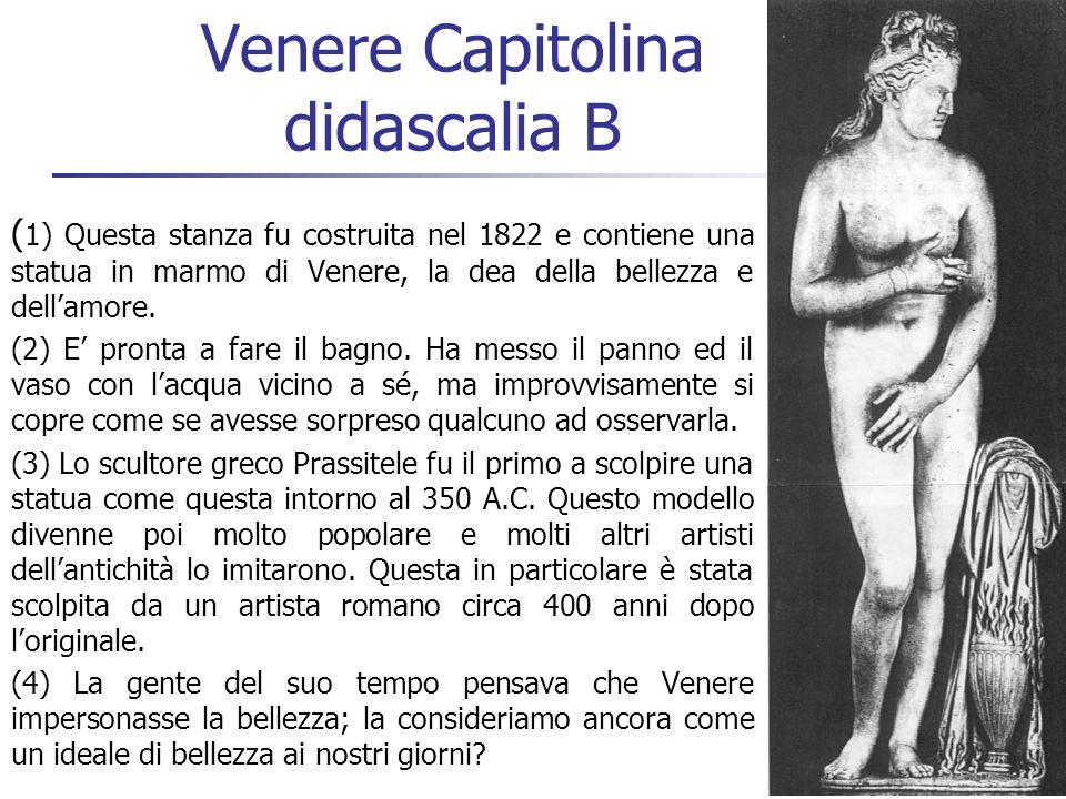 Venere Capitolina didascalia B