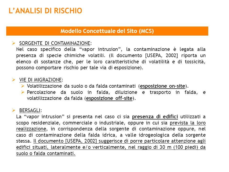 Modello Concettuale del Sito (MCS)