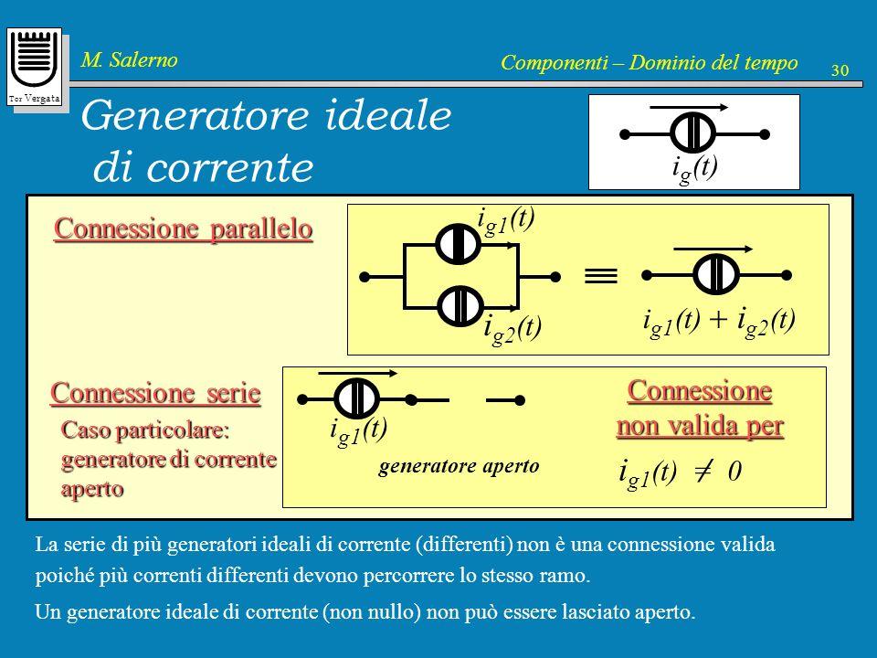 Generatore ideale di corrente