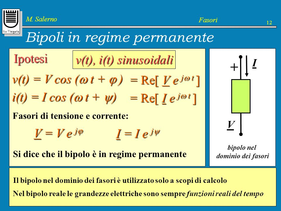 Bipoli in regime permanente