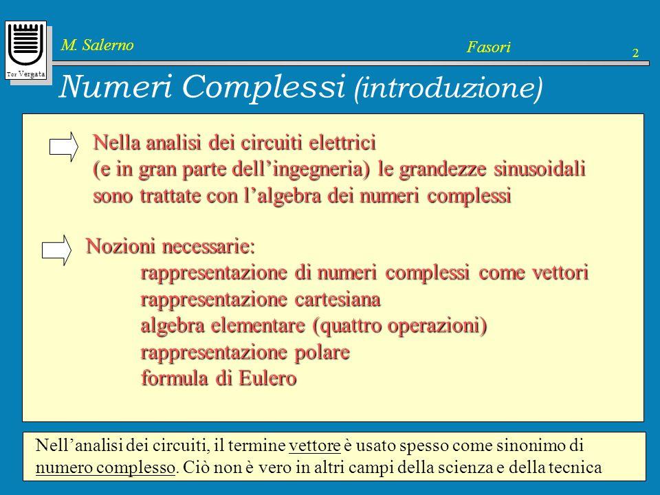Numeri Complessi (introduzione)