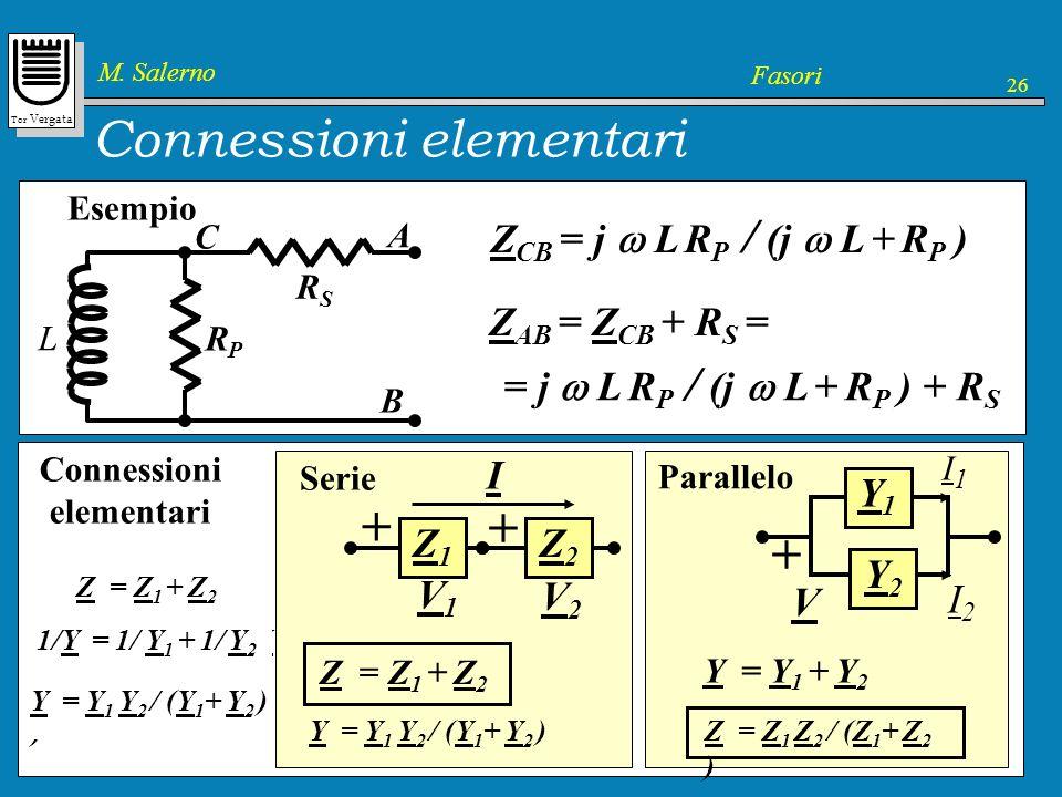 Connessioni elementari