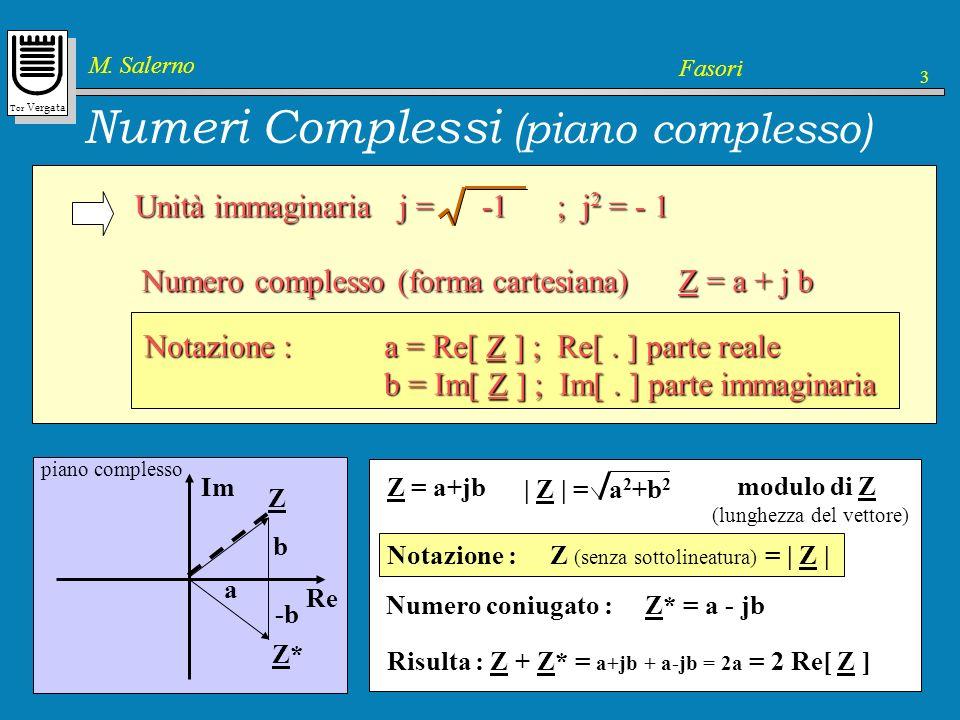 Numeri Complessi (piano complesso)