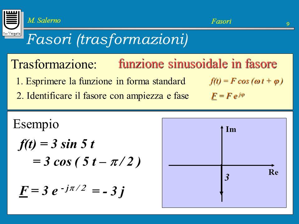 Fasori (trasformazioni)
