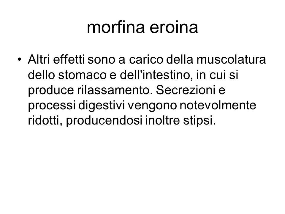 morfina eroina
