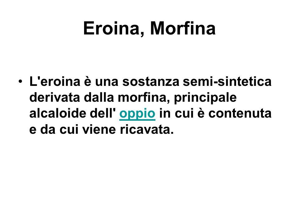 Eroina, Morfina