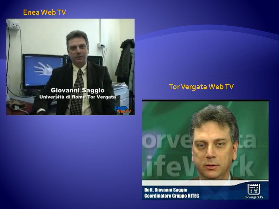 Enea Web TV Tor Vergata Web TV