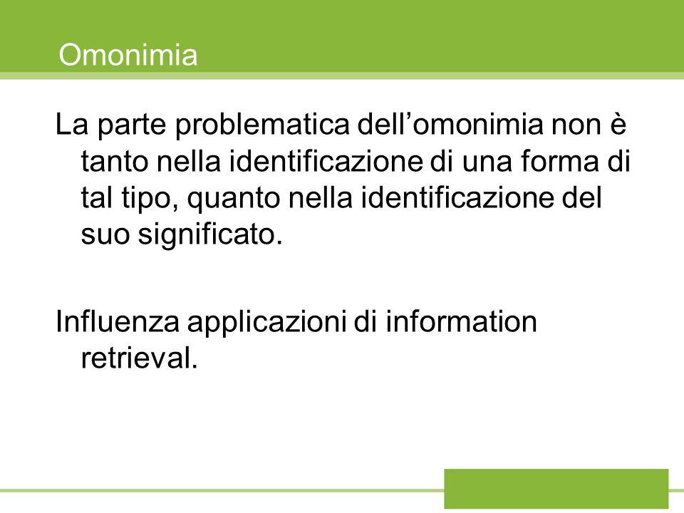 Influenza applicazioni di information retrieval.