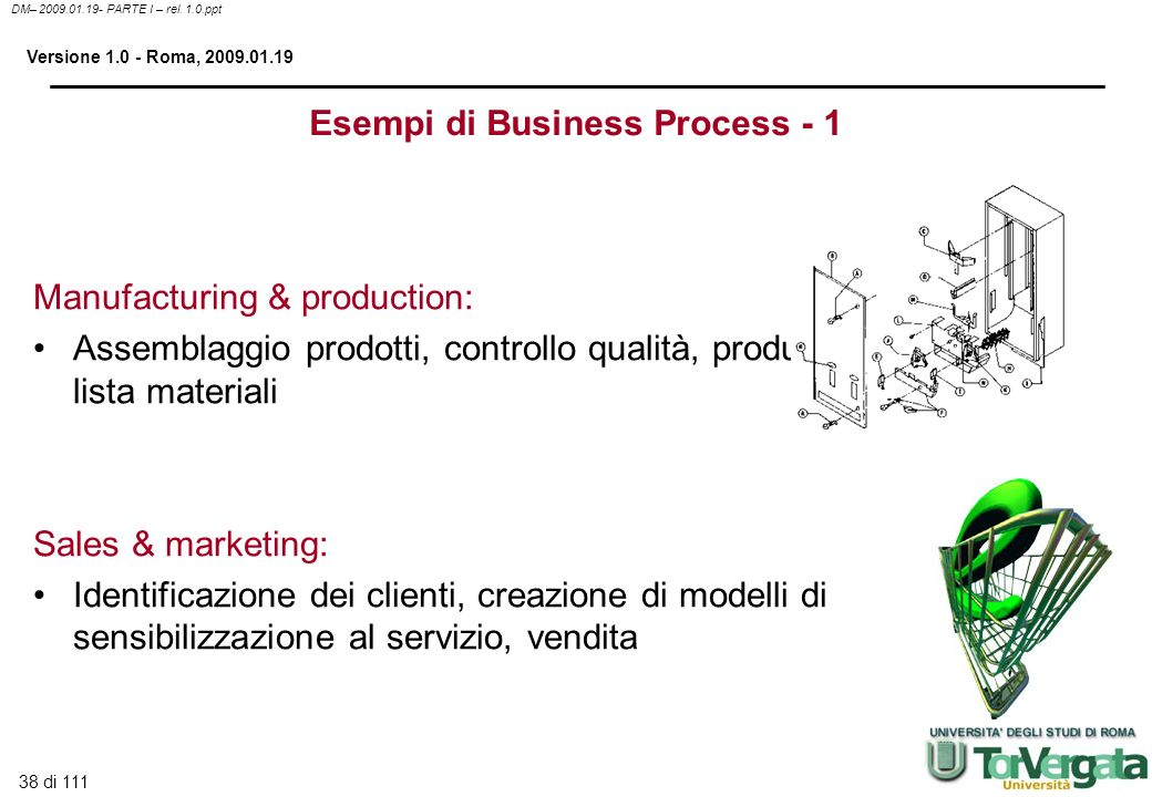 Esempi di Business Process - 1