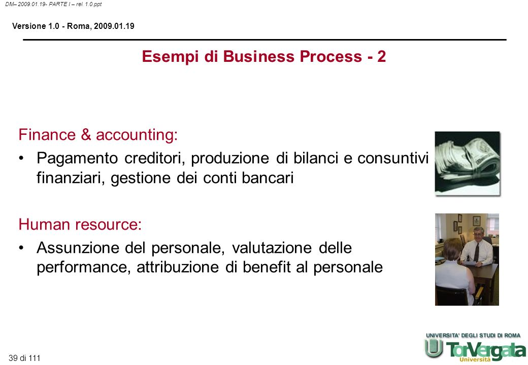 Esempi di Business Process - 2