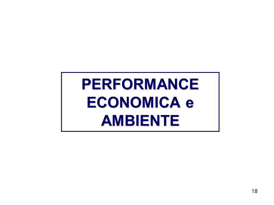 PERFORMANCE ECONOMICA e AMBIENTE