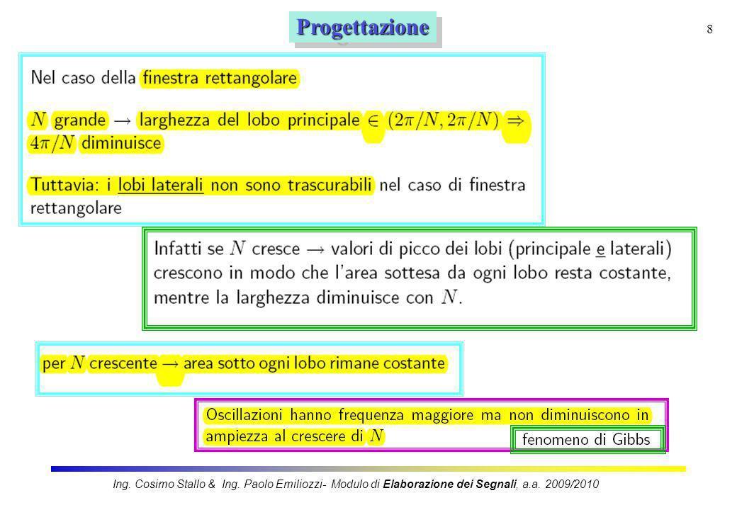Progettazione Ing. Cosimo Stallo & Ing.