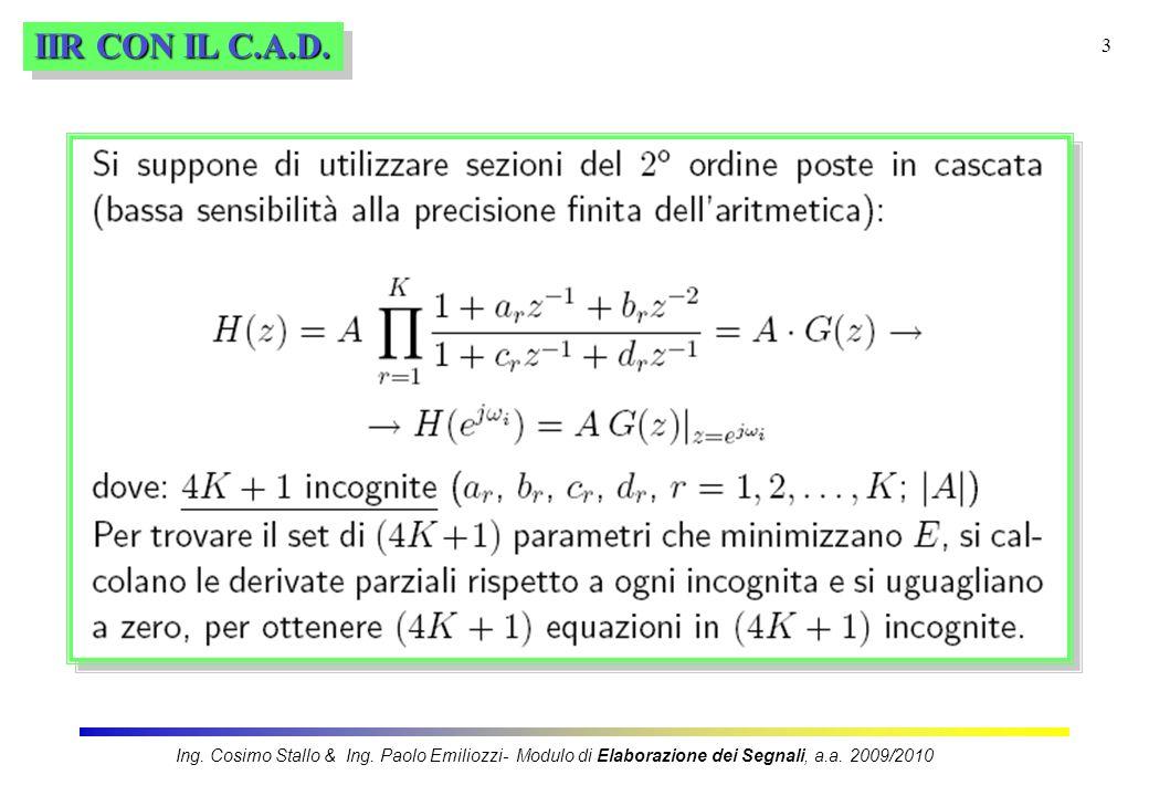 IIR CON IL C.A.D.Ing.Cosimo Stallo & Ing.