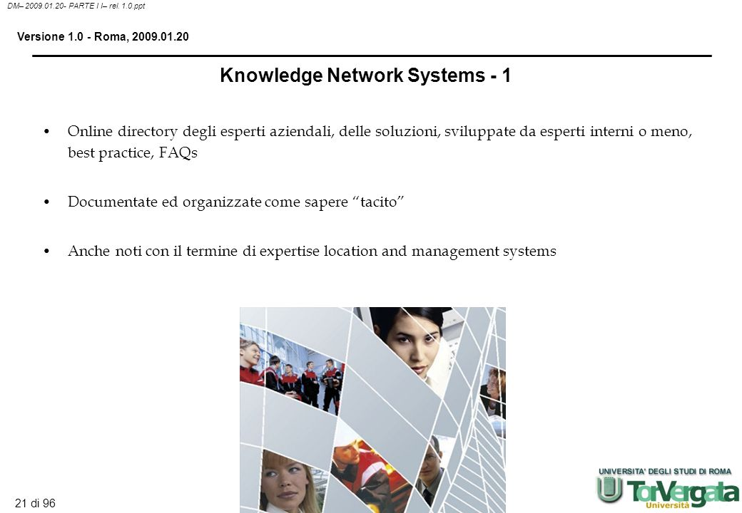 Knowledge Network Systems - 1