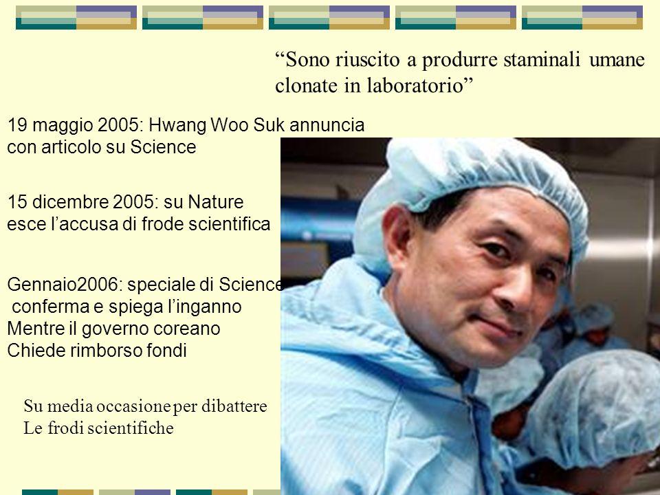 Sono riuscito a produrre staminali umane clonate in laboratorio