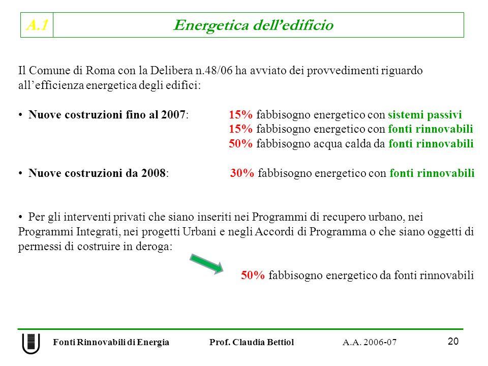 Il Comune di Roma con la Delibera n