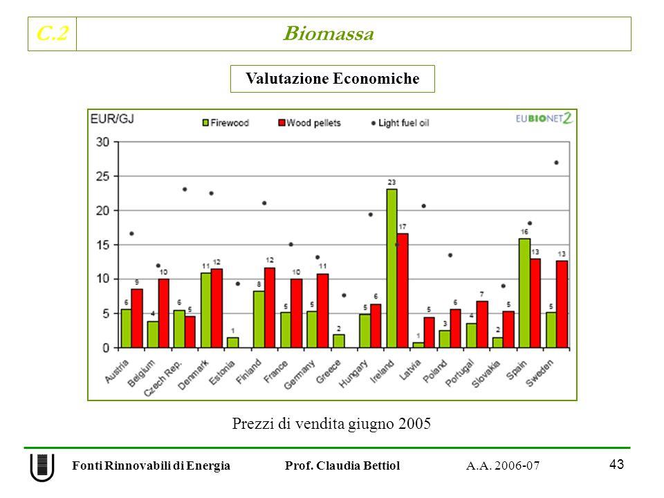 Valutazione Economiche