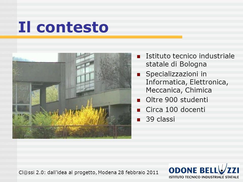 Il contesto Istituto tecnico industriale statale di Bologna