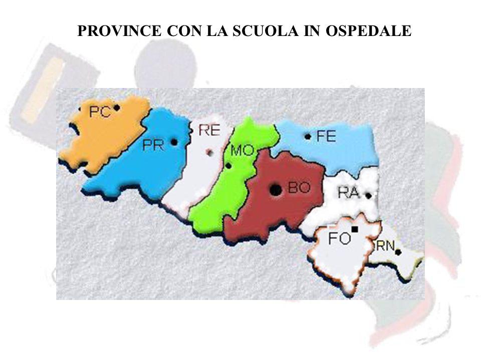 PROVINCE CON LA SCUOLA IN OSPEDALE
