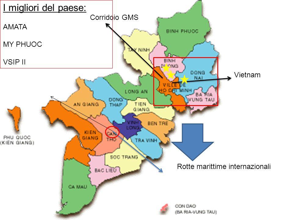 I migliori del paese: AMATA Corridoio GMS MY PHUOC VSIP II Vietnam