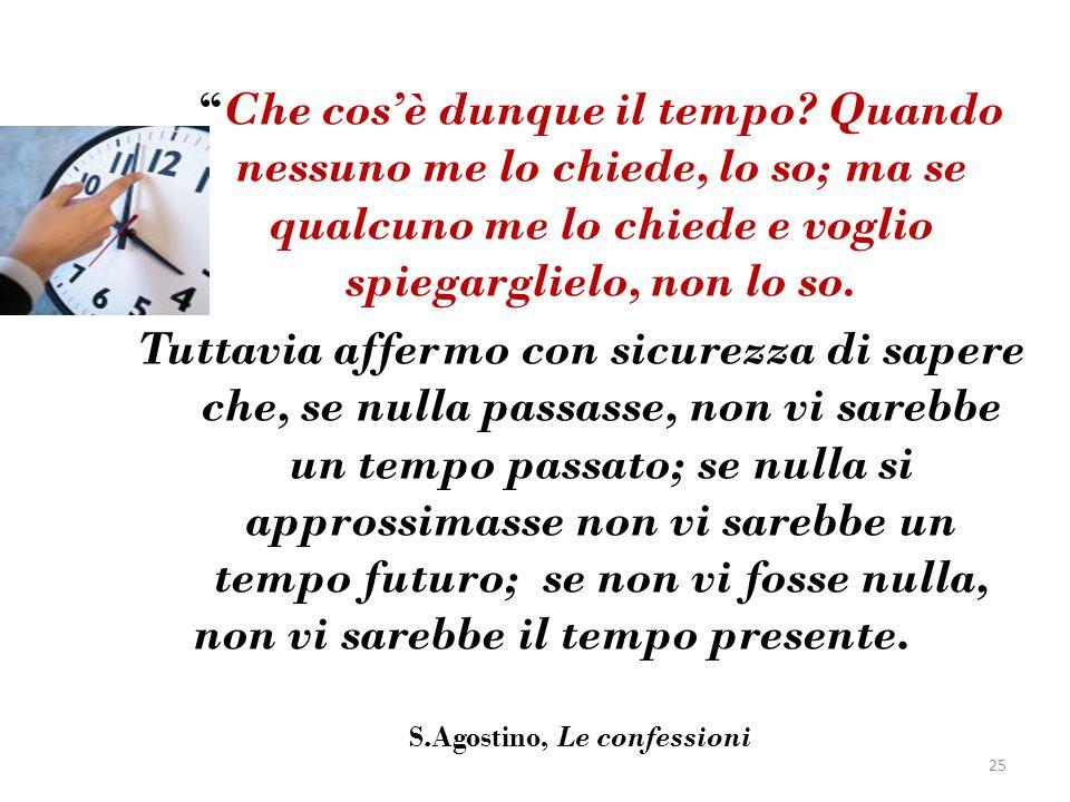 S.Agostino, Le confessioni