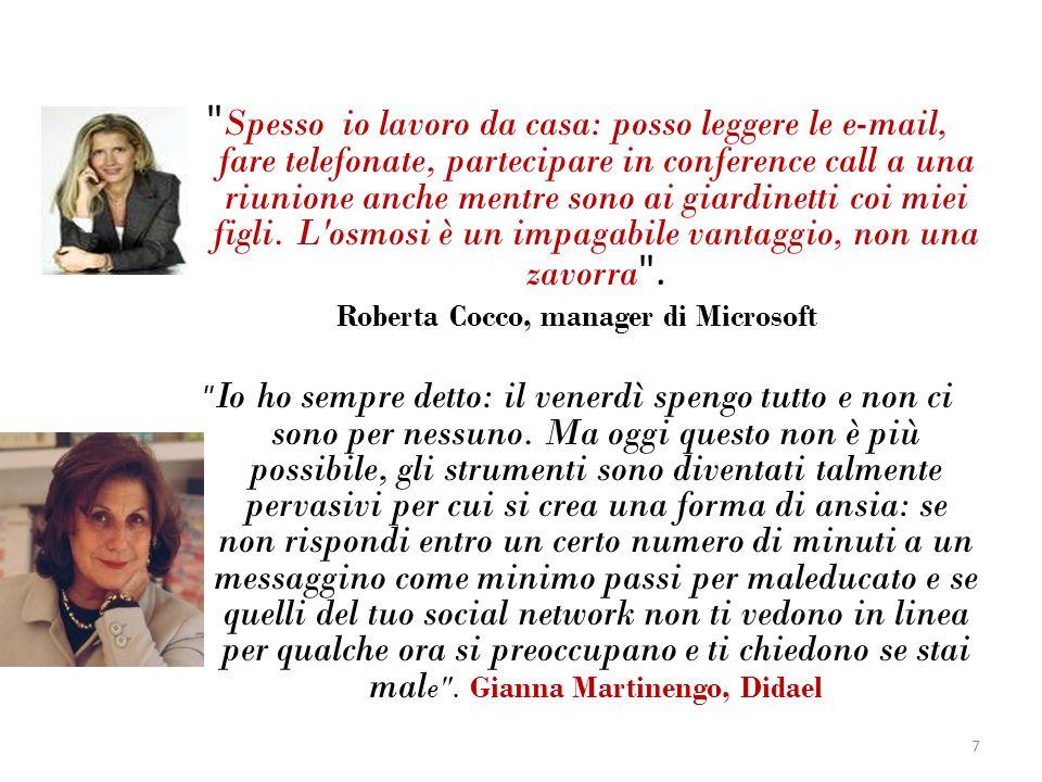 Roberta Cocco, manager di Microsoft